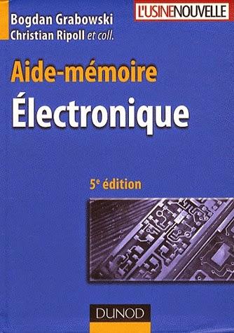 Livres Scientifiques Gratuits Aide Memoire Electronique Pdf