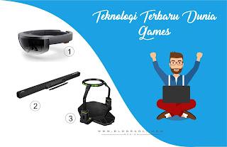 Inilah 3 Teknologi Terbaru Dari Dunia Game