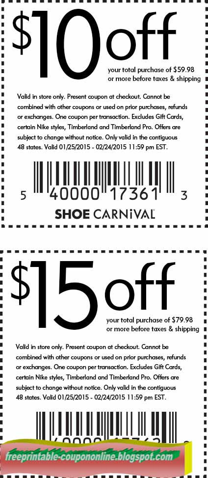 Shoe carnival coupons 2019