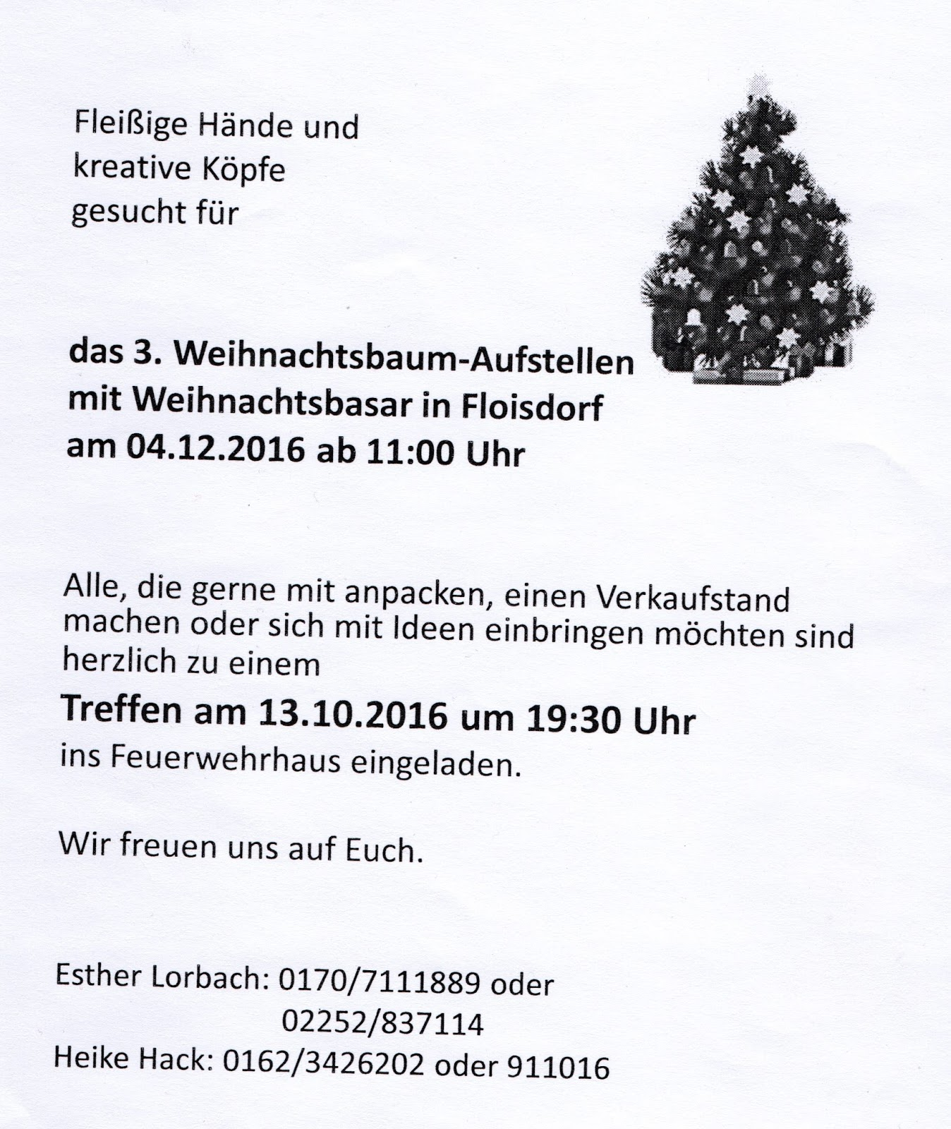 Wann Weihnachtsbaum Aufstellen.Der Floisdorf Blog Einladungen Einladungen Einladungen