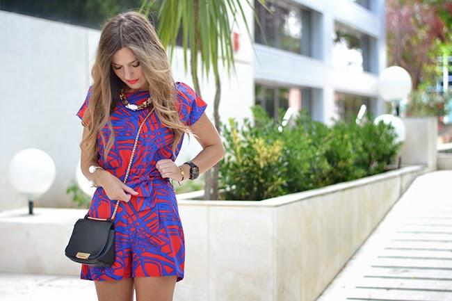 157bfe10 Mono /Jumpsuit: Sheinside (New) Tacones /Heels: Zara (A/W 13-14) Collar /  Necklace: Zara (S/S 14) Bolso / Handbag: Parfois (A/W 13-14)