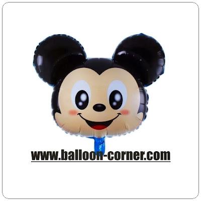 Balon Foil Karakter Kepala Mickey Mouse Tsum Tsum