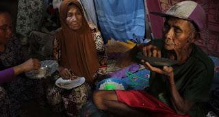 Tak Mampu Beli Beras, Keluarga Ini Lima Tahun Makan Nasi Aking