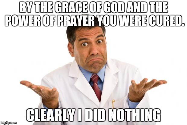 doctor atheism healing