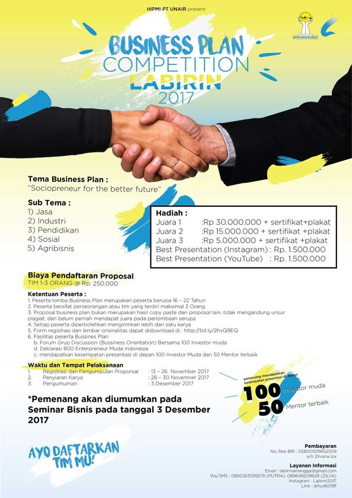 international business plan competition