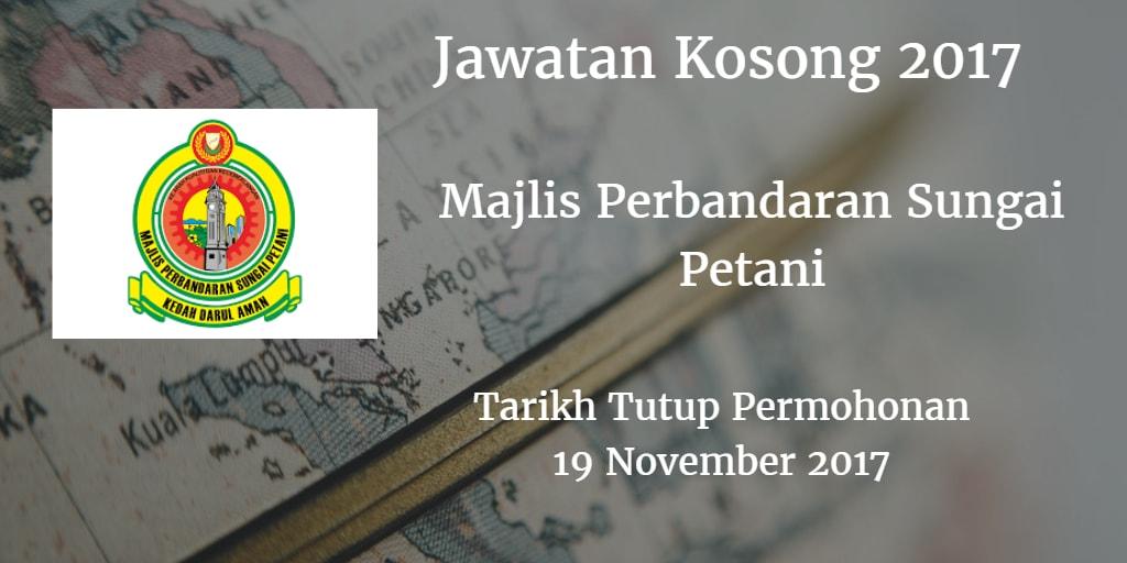 Jawatan Kosong MPSPK 19 November 2017