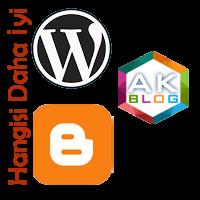 Wordpress mi Blogger Hangisi Daha İyi?