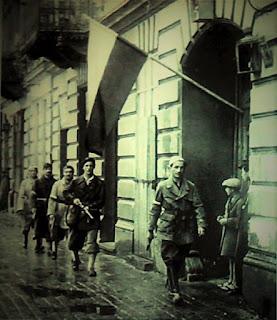 """Porucznik """"Agaton"""" z kompanii """"Zemsta"""" batalionu """"Pięść""""  - Powstanie Warszawskie"""
