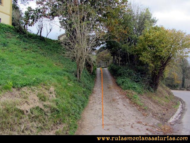 Ruta Olloniego Escobín: Desvío en el alto del Padrún, hacia el pico Boa