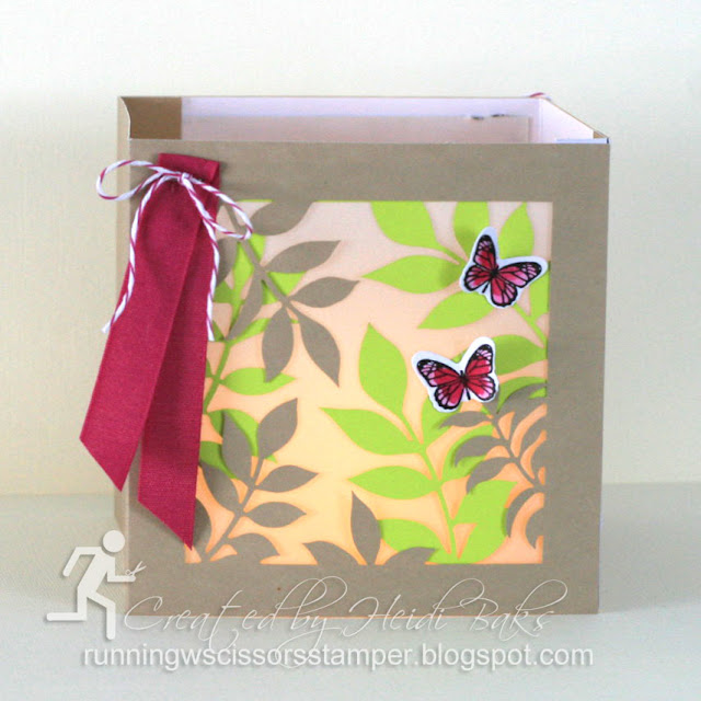 Stampin' Up! Paper Pumpkin December 2017 Flora and Flutter