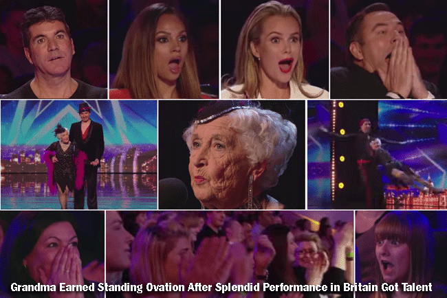 Grandma Earned Standing Ovation After Splendid Performance in Britain Got Talent