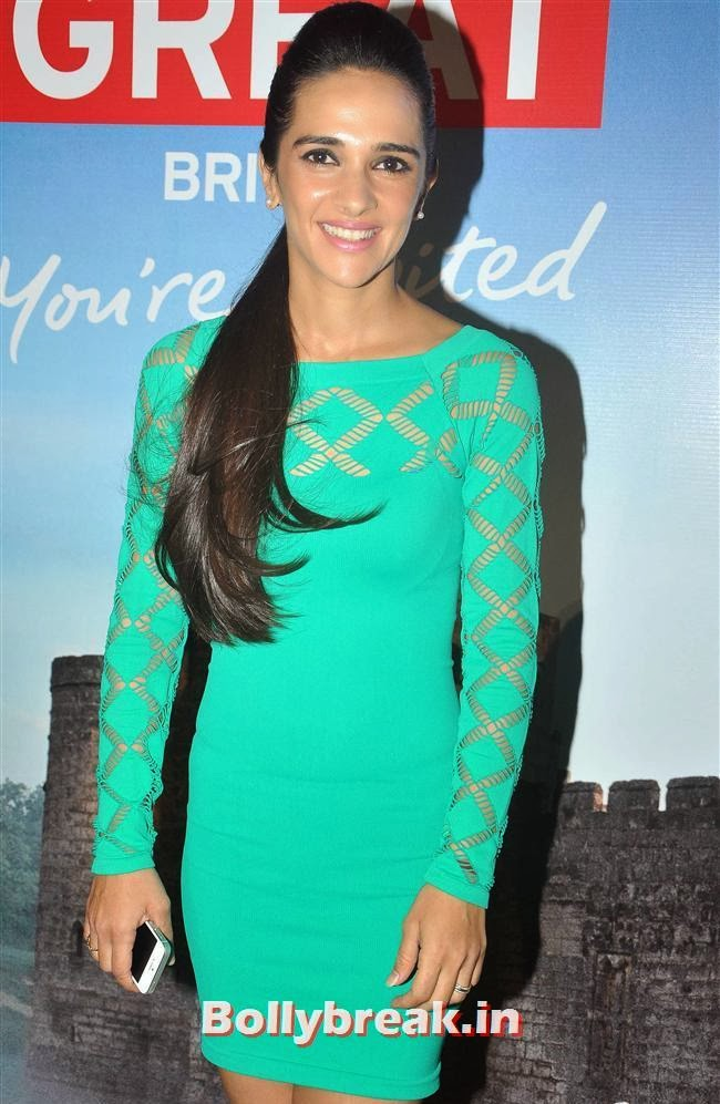 Tara Sharma, Kangana Ranaut, Others at Bollywood in Britain App Launch