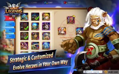 Brave Legends - Heroes Awaken Mod Apk