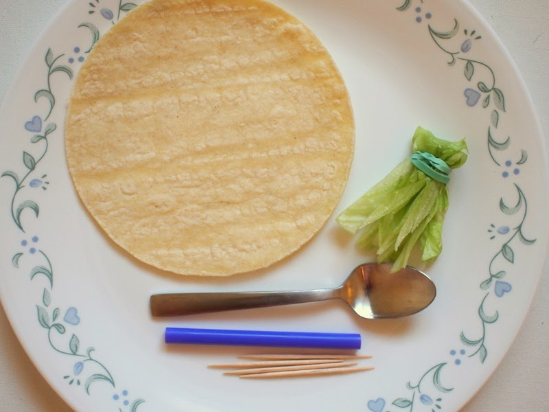 materials to paint tortillas