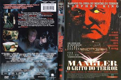 Filme Mangler - O Grito do Terror (1995) DVD Capa