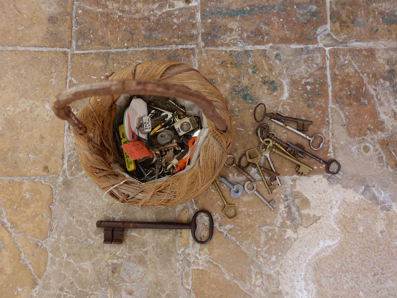 Emilie Johnson Basket Of Keys Our New House