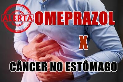 Omeprazol dobra risco de câncer de estômago