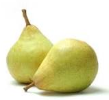 Nutritional contents of pears