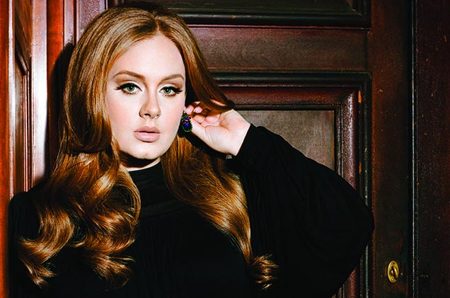 Have you seen Adele without makeup before? Well, here she is