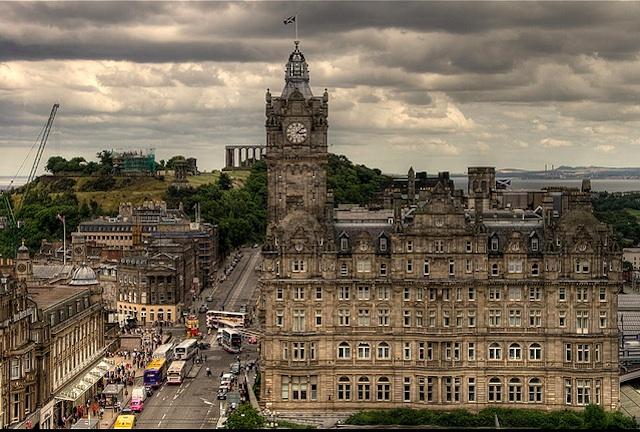 Prince's Street, Edinburgh, Scotland