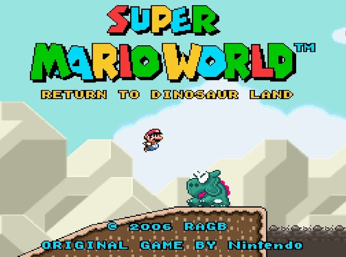 Download Rom Hack - Super Mario World Return To Dinossaur Land