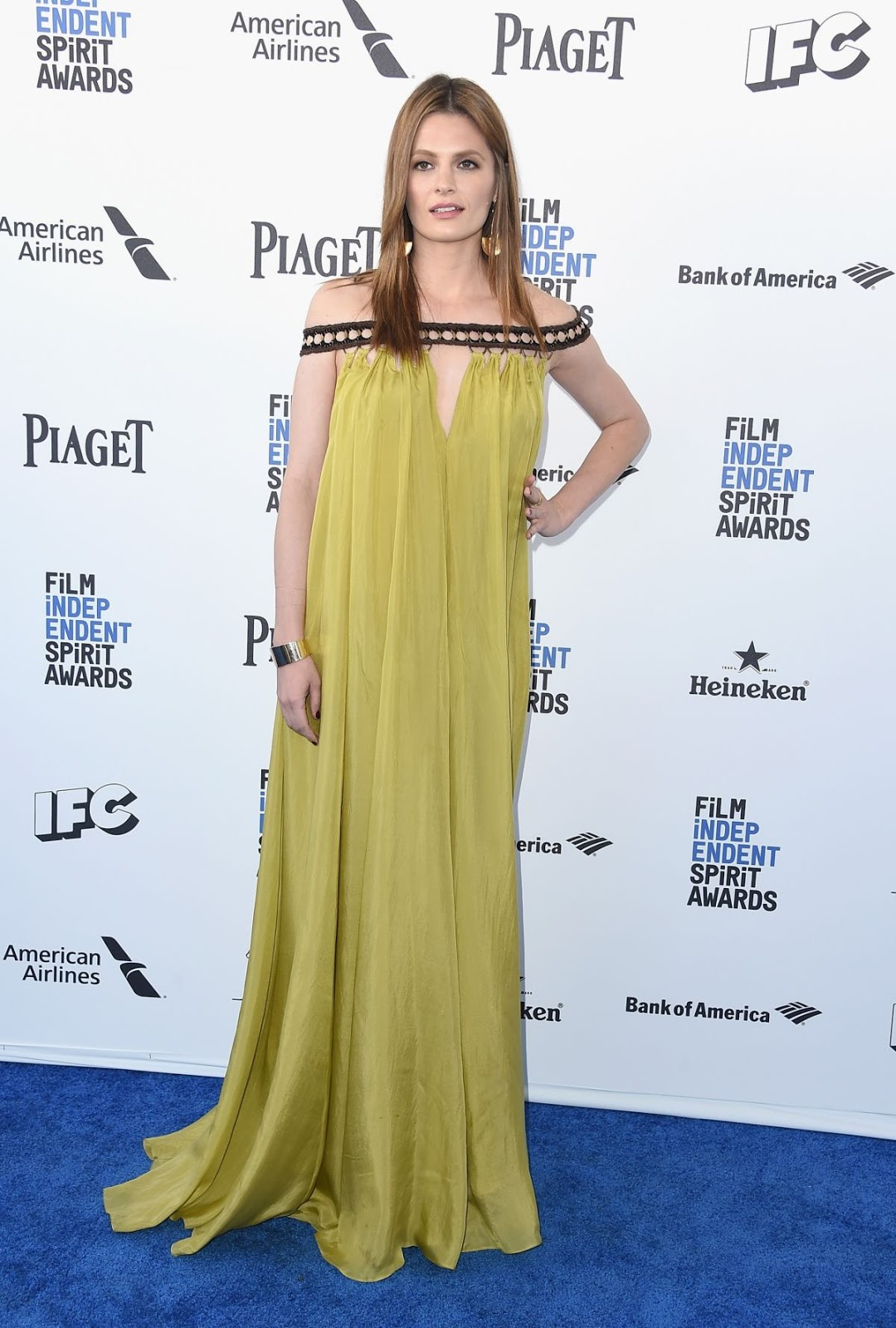 Stana Katic at Film Independent Spirit Awards in Santa Monica