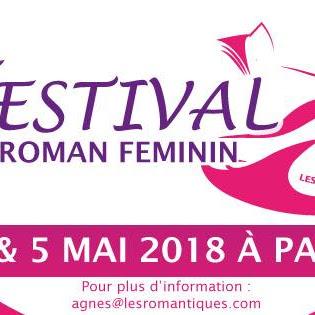 [Salon] Festival du roman féminin - 4 et 5 mai 2018 à Paris