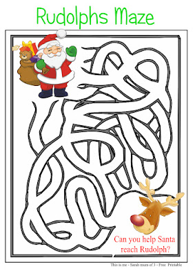 childrens activity print out download maze game