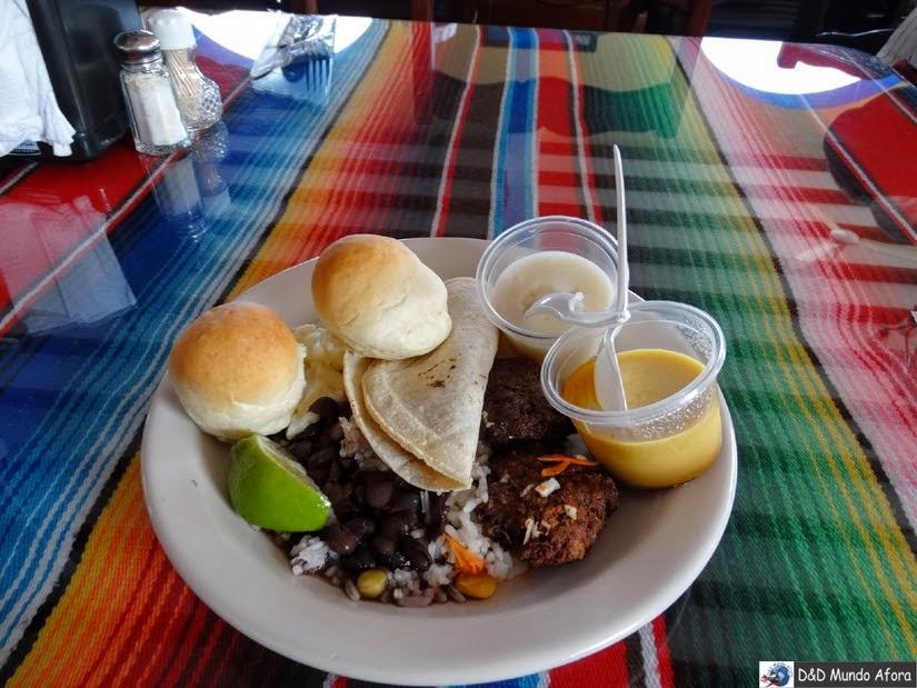 Almoço em Vallaloid - México