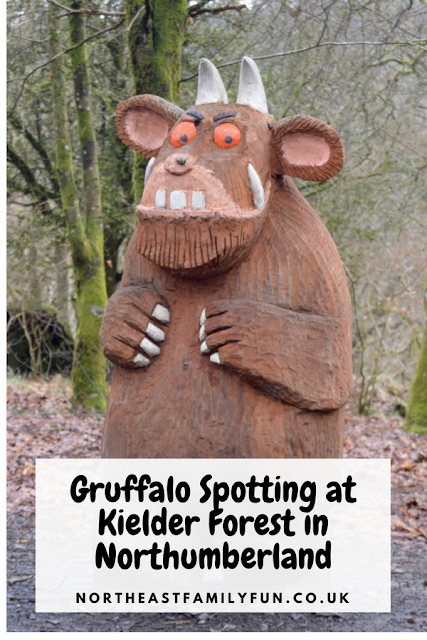 The New Highway Rat Trail and Gruffalo Spotting at Kielder Forest in Northumberland #Kielder #Northumberland #TheGruffalo
