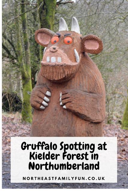 The New Highway Rat Trail and Gruffalo Spotting at Kielder Forest in Northumberland #Kielder #Northumberland #TheGruffalo
