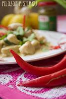 (Zielone curry z kurczaka