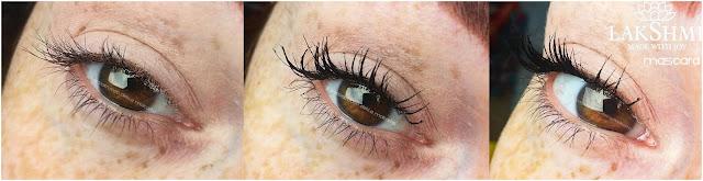 Mascara applicazione recensione lakshmi makeup vegan ecobio