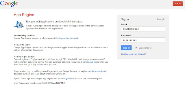 how to deploy application in google app engine