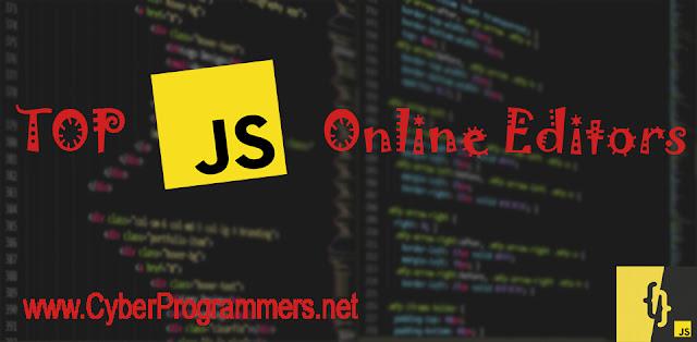JavaScript online editors