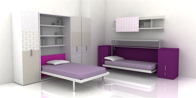 Sasa gurl p superrr cute room designs - Teenage beds for small rooms ...