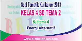 Energi Alternatif dan Kunci Jawaban yang sanggup didownload dengan gampang dengan sekali klik Download Soal Tematik Kelas 4 SD Tema 2 Subtema 4 Energi Alternatif dan Kunci Jawaban