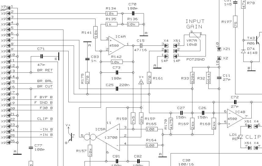 behringer amp schematic closet junk: ssf / hp filter mod for behringer ep2500 220 amp schematic wiring