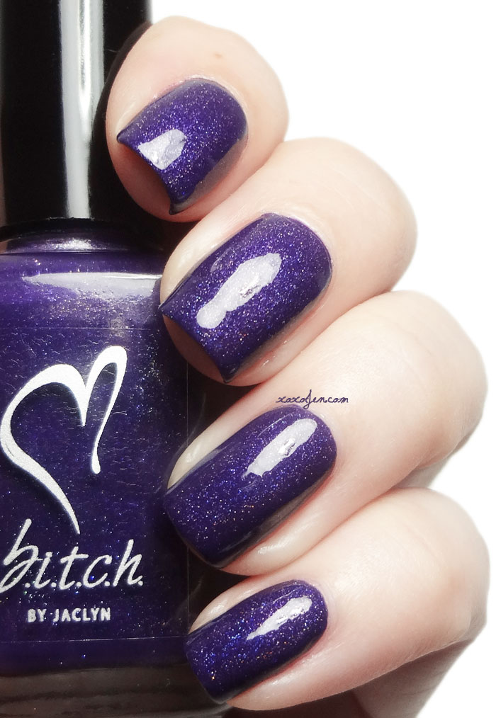 xoxoJen's swatch of B.i.t.c.h. Go Away