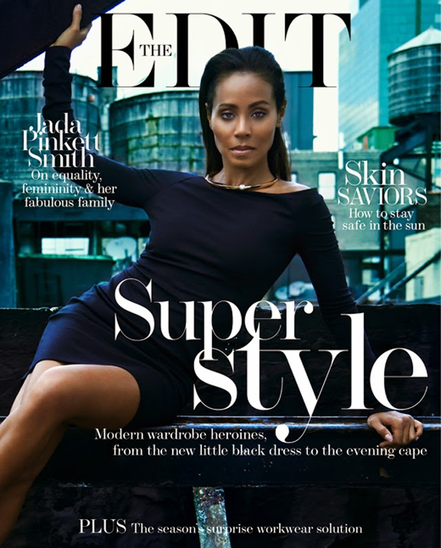 Jada Pinkett Smith The Edit cover
