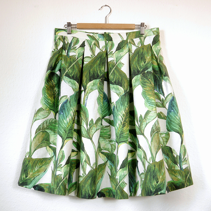 Stoff&Stil, StoffStil, nähen, sewing, DIY, selfdrafted, Schnittmuster, sewingpattern, pleated skirt, Faltenrock