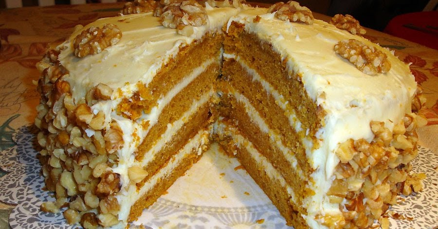 pumpkin layer cake four layer pumpkin cake with cheese frosting us recipe 6856