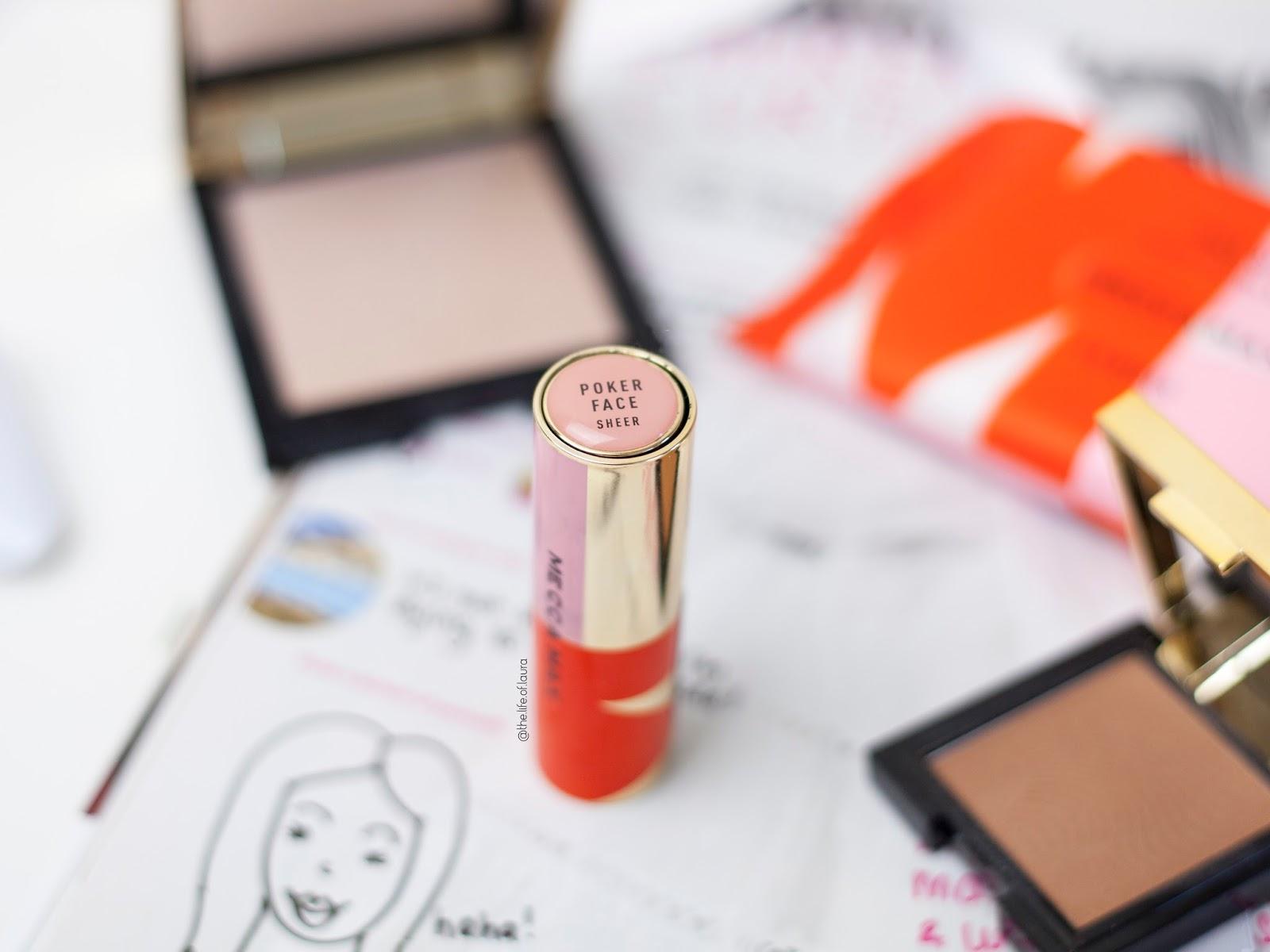Mecca Max Pout Pop Lipstick