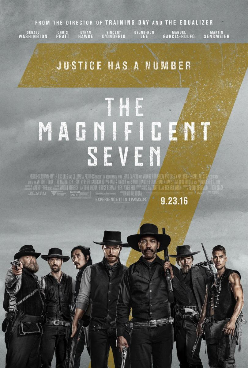 The Magnificent Seven [2016] [DVD9] [NTSC] [Latino]