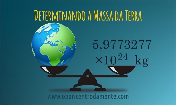 Determinando a massa da Terra