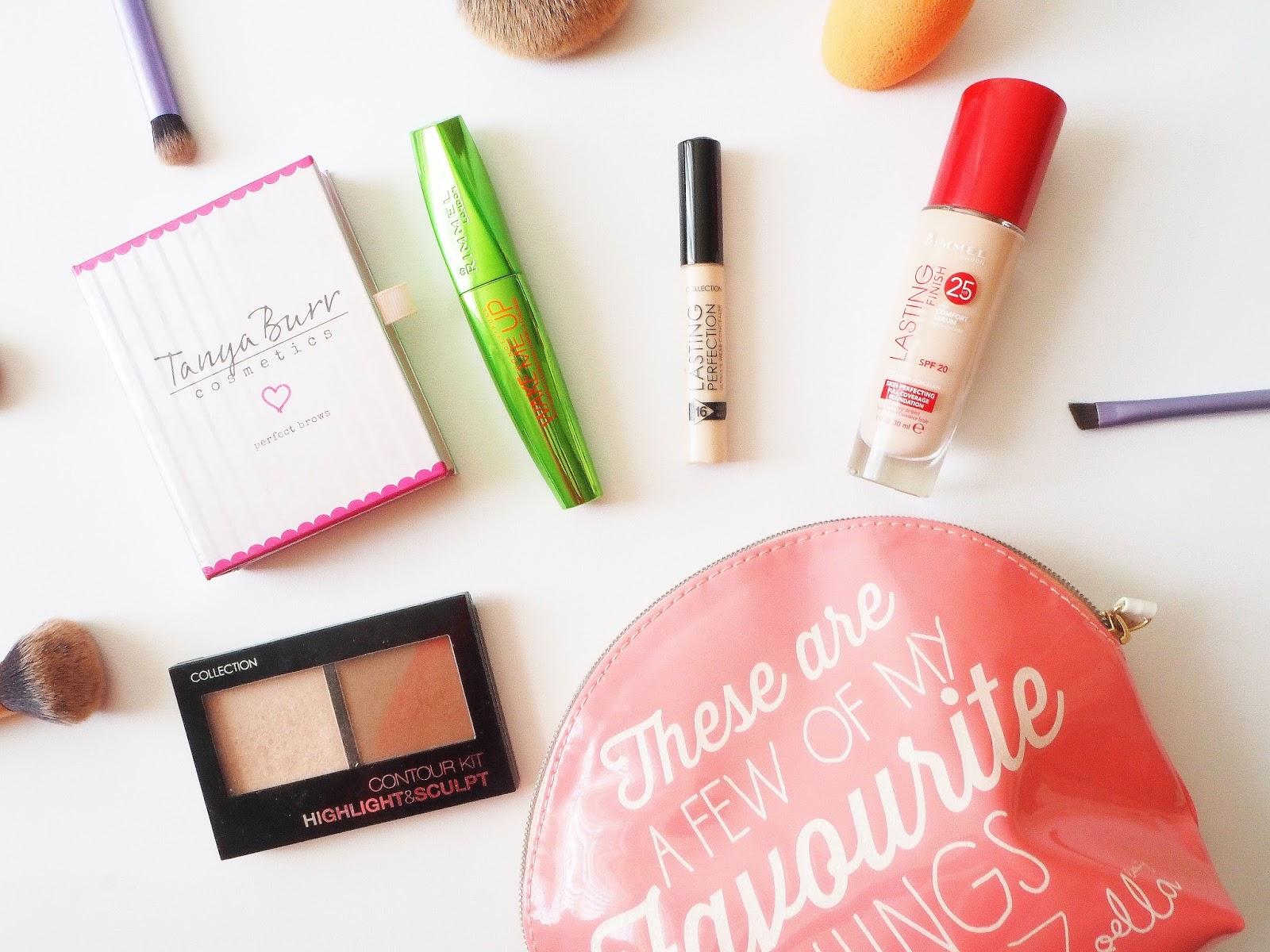 beauty, collection, rimmel, tanya bear, make up, affordable make up