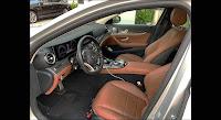 Mercedes E300 AMG 2018 đã qua sử dụng nội thất Nâu