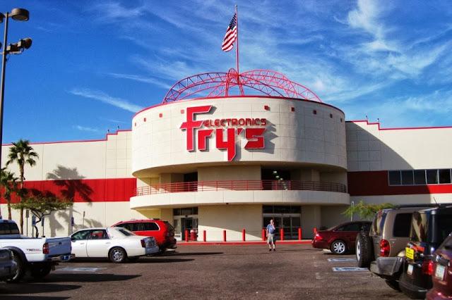 Las Vegas Fry's stores