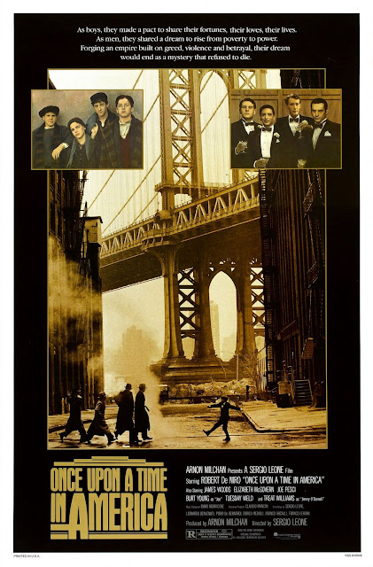 once upon a time in america, directed by sergio leone
