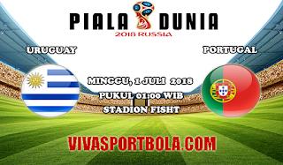 Prediksi Bola Uruguay vs Portugal 1 Juli 2018